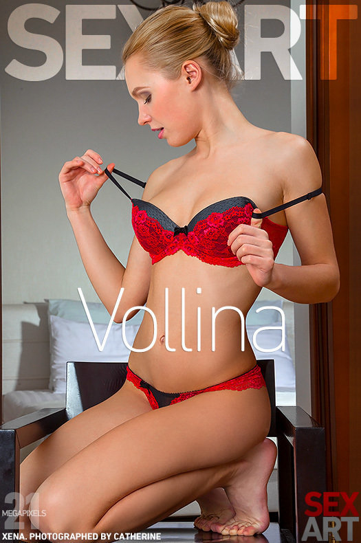 Naughty Blonde Babe Xena in Vollina by Catherine