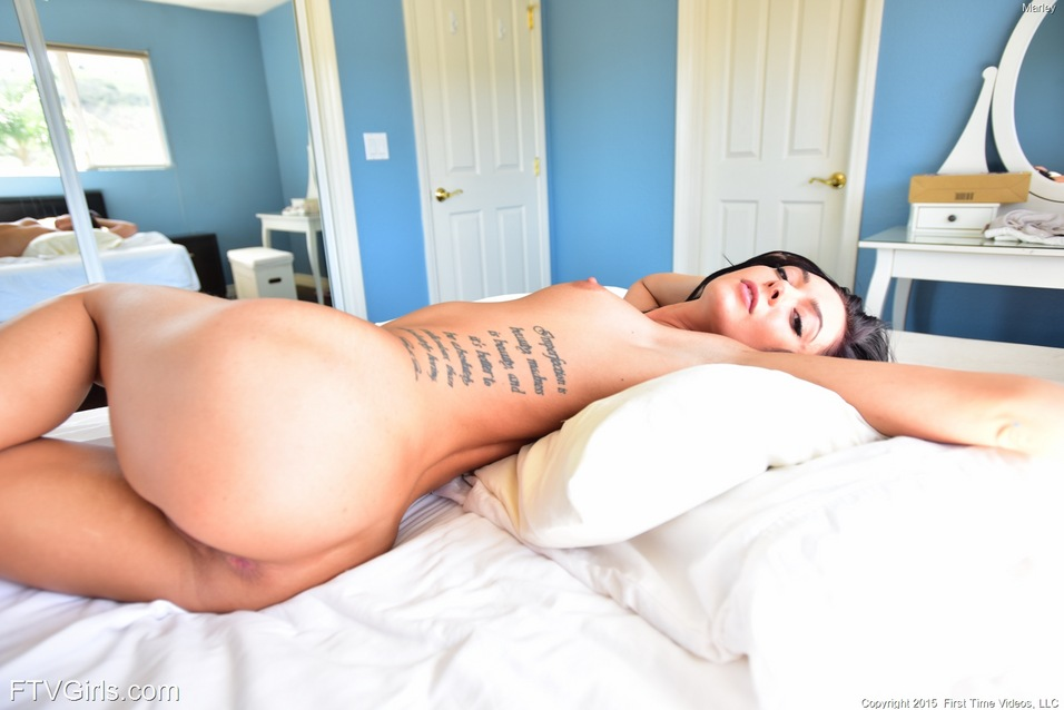 Naughty Sexy Babe Marley Stretching Out