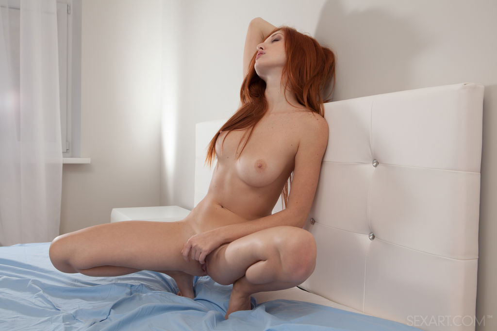 Naughty Redhead Babe Michelle H in Paghie by Koenart