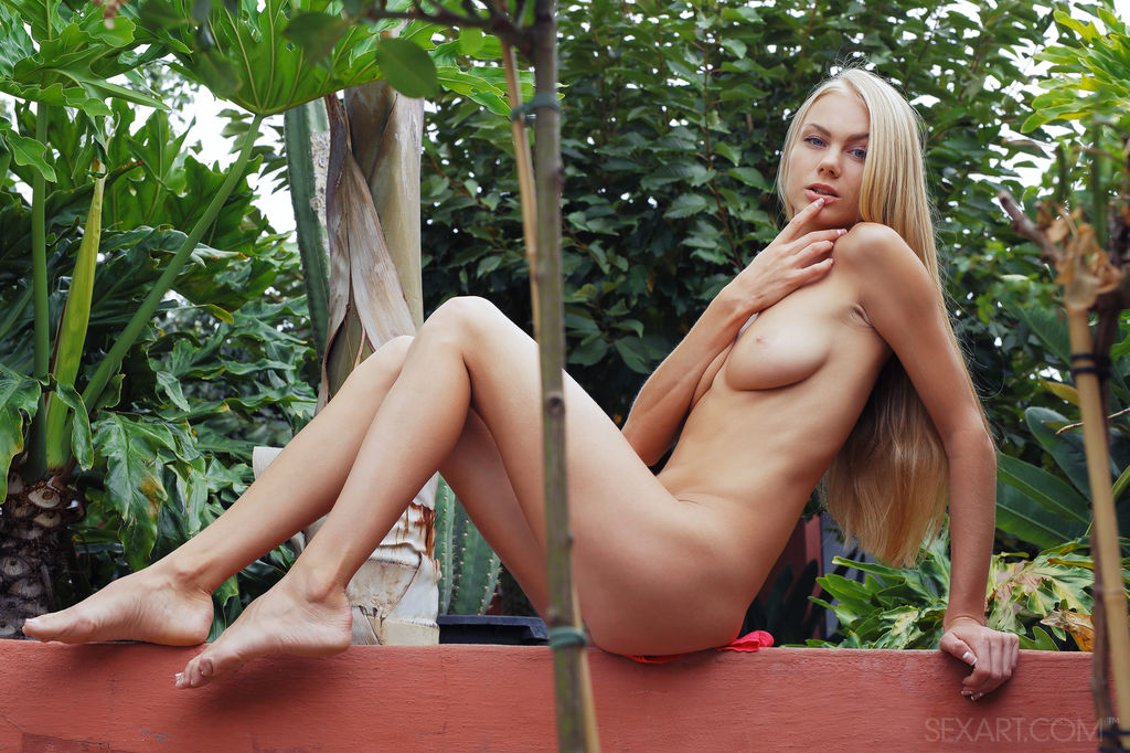 Naughty Blonde Nancy A in Reviren